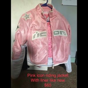 Icon motorcycle jacket womens